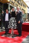 Michael J. Fox, Julianna Margulies, Les Moonves — Stock Photo