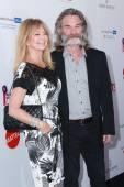 Goldie Hawn, Kurt Russell — Stock Photo