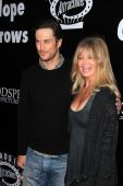 Oliver Hudson, Goldie Hawn — Stock Photo