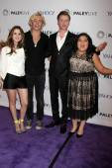 Laura Marano, Ross Lynch, Calum Worthy, Raini Rodriguez — Stock Photo