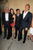 Ron Perlman, Celina Jade, Tony Jaa, Dolph Lundgren — Stock Photo