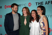 Joshua Jackson, Ruth Wilson, Maura Tierney, Julia Goldani Telles — Stock Photo