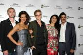 Jake McLaughlin, Priyanka Chopra, Graham Rogers, Yasmine Al Massri, Tate Ellington — Stock Photo