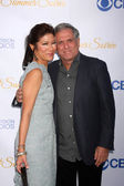 Julie Chen, Les Moonves — Stock Photo