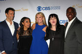 Cameron Mathison, Nischelle Turner, Nancy O'Dell, Pauley Perrette, Kevin Frazier — Stock Photo