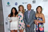 Russell Simmons, Chloe Flower, AnnaLynne McCord, Jeannie Mai — Stock Photo