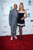 Russell Simmons, Mira Sorvino — Stock Photo