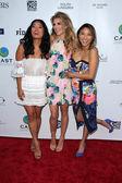 Chloe Flower, AnnaLynne McCord, Jeannie Mai — Stock Photo