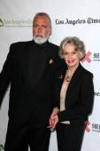 Chris Gallucci, Tippi Hedren — Stock Photo