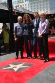 Bob Tuschman, Susie Fogelson, Brooke Johnson — Stock Photo