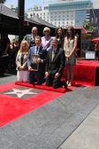 Chamber Officials, Michael Symon, Brooke Johnson, Bobby Flay, Sophie Flay — Stock Photo