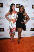 Karina Smirnoff, Toni Braxton — Stock Photo