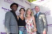 Aloe Black, Guest, Rebecca Gayheart, Eric Dane — Stock Photo