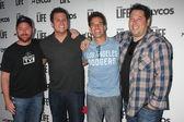 Scott Grimes, Bob Guiney, Adrian Pasdar, Greg Grunberg — Stock Photo