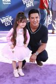 Mario Lopez, daughter — Stock Photo