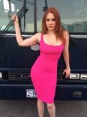 "Maitland Ward  at ""Throwing Darts"" — Fotografia Stock"