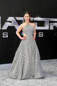 Emilia Clarke  at the Terminator Genisys — Stockfoto