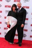 Evangeline Lilly, Corey Stoll — Stock Photo