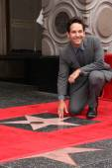 Paul Rudd  -  Hollywood Walk of Fame — Stock Photo