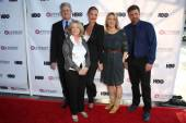 Sam McMurray, Mary Agnes Donoghue, Katherine Heigl, Linda Emond, Houston Rhines — Stock Photo