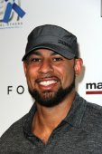 Hank Baskett - former American football — Stock Photo