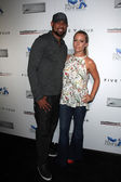 Kendra Wilkinson, Hank Baskett — Stockfoto