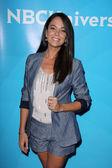 Michele Lepp at the NBC — Stock Photo