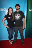 Pam Genei, Adam Genei at the NBC — Stock Photo