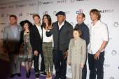 NCIS LA Cast, Chris O'Donnell, Renee Felice Smith, Barrett Foa, Daniela Ruah, LL Cool J, Miguel Ferrer, Linda Hunt, Eric Christian Olsen — Stock Photo