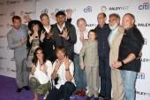 NCIS LA Cast with Executive Producers — Stock Photo