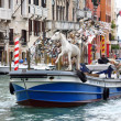 Preparing to the Art Biennale in Venice — Stock Photo #72608109