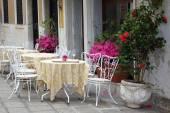 Italian terrace — Stock Photo