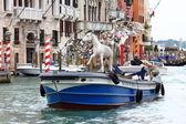 Preparing to the Art Biennale in Venice — Foto Stock