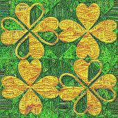Tapestry Background of Saint Patricks Day — Stock Photo