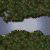 Seamless Green Terrain Background — Foto de Stock