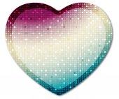 Shining heart 1 — Stock Photo