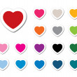 Valentine icons set — Stock Photo #53163007