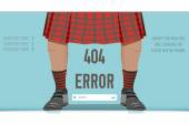 Page Not Found Error 404, vector illustration — Stock Vector