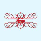 Calligraphy monogram floral design, vintage pattern logo — Stock Vector