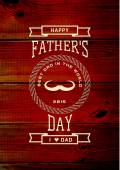 Fathers day badges logos and labels — Stock Vector
