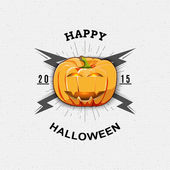 Happy Halloween badges logos and labels for any use — Stock Vector
