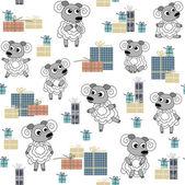 Sheep 2015 — Stock Vector