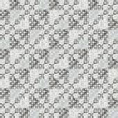Lace seamless graphic pattern in white and gray tones — Stock Vector
