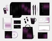 Brand Design. Corporate identity template — Stock Vector