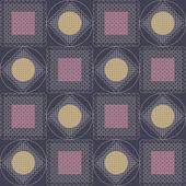 Grafik abstrakt. Nahtlose Muster — Stockvektor