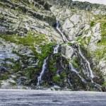 Waterfall in Carpathian Mountain — Stock Photo #53745603