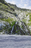 Waterfall in Carpathian Mountain  — Stock Photo