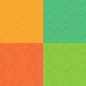 круг бесшовный фон — Cтоковый вектор