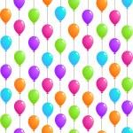 balões voadores — Vetor de Stock  #52878395