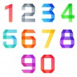 Vector numbers Set — Stock Vector #52882359